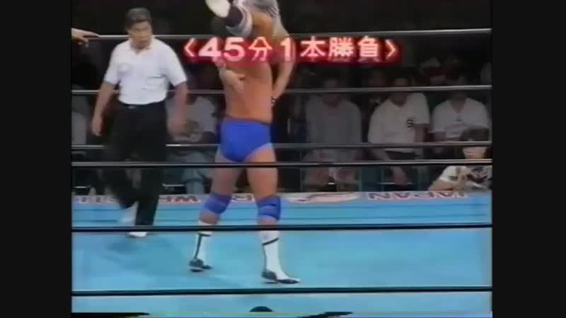 1994.07.12 - Toshiaki Kawada/Akira Taue/Yoshinari Ogawa vs. Jun Akiyama/Takao Omori/Tamon Honda [JIP]