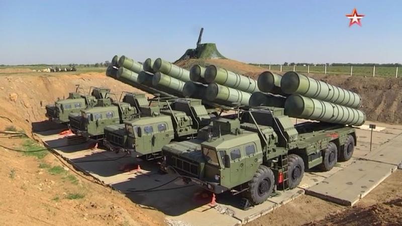 """Телеканал Звезда on Instagram: """"Еще один «Триумф» будет защищать крымское небо. Очередной дивизион новейшей системы С-400 развернули на западном ..."""