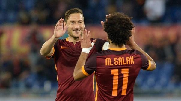 """Totti: """"Salah ajoyib va samimiy inson edi"""" - liverpul.uz"""