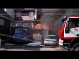 Сгорел дом участника группы Уматурман