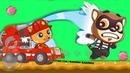 ГОВОРЯЩИЙ ТОМ БЕГ ЗА СЛАДОСТЯМИ 16 ДРУЗЬЯ Анжела Бен и Джинджер игровой мультик для детей ММ