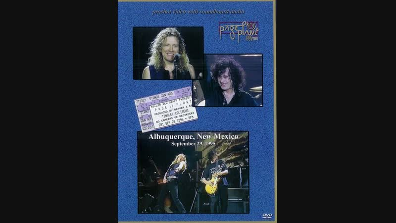 Jimmy Page Robert Plant 1995-09-29 Albuquerque