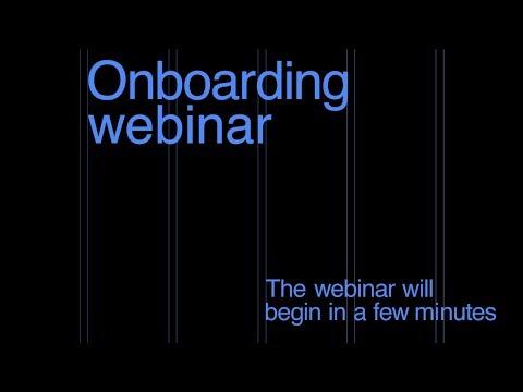 Readymag Onboarding webinar Англоязычный вебинар для начинающих