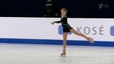 14-летняя Александра Трусова стала чемпионкой мира среди юниоров ивошла висторию фигурного катания
