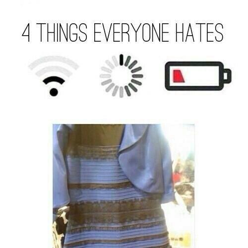 Теперь мы все ненавидим четыре вещи