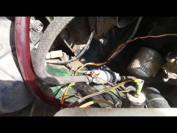 Электро бензонасос на карбюратор. ВАЗ 2107
