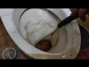 Промывка системы отопления в процессе 2