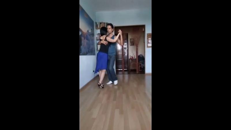 Александр Драда-Салазар (AVENIDA, Иркутск) - Екатерина Ким (Studio Tango, Южно-Сахалинск)