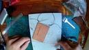 Седельный и декоративный шов для ручного пришивания кожи