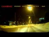 Cansonic CDV-800 ночь снег