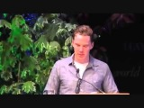 2 of 2   Benedict Cumberbatch and Louise Brealey read Chris and Besse at Letters Live, Hay Festival