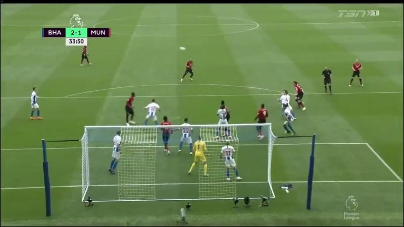 Брайтон - Манчестер Юнайтед. Английская Премьер Лига. Обзор