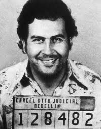 Колумбийский наркобарон Пабло Эскобар на пике своего могущества в 1989