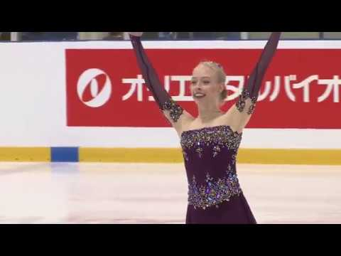 BRADIE TENNEL - 1st PLACE - FREE SKATING - 2018 AUTUMN CLASSIC INTERNATIONAL