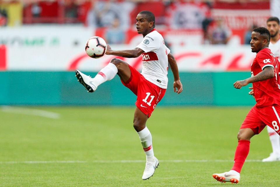 Фернандо: «Спартак» сыграл лучше «Локо», особенно в первом тайме