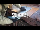Smokehouse | Чистим крышку для коптильни и решетку