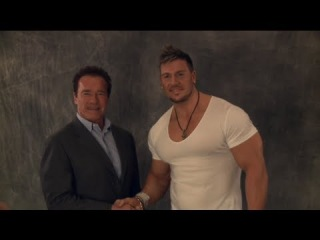 Rob Terry and Robbie E talk about meeting Arnold Schwarzenegger