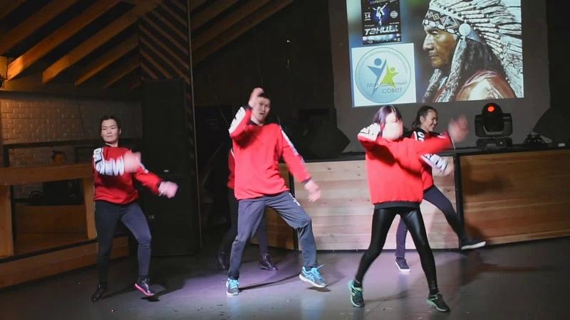 Танец K-pop в исполнении ДРКБ