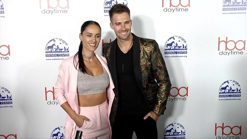 James Maslow and Gabriela Lopez 2018 Daytime Hollywood Beauty Awards Red Carpet