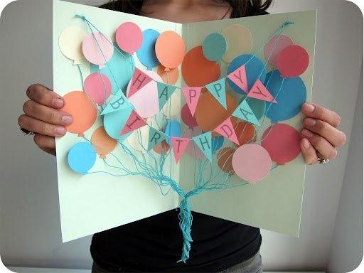 Как украсить открытку для бабушки