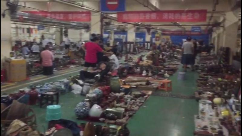 Барахолка в Китае