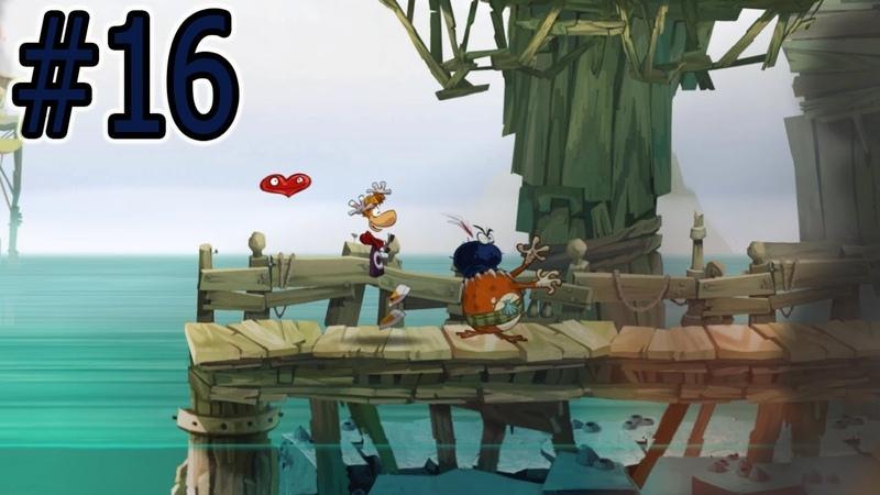 ПОРТ-ПАНИК | Rayman Origins 16