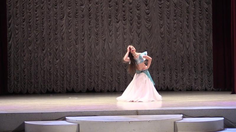 Всеукраинский фестиваль восточного танца Malak el Raks Школа восточного танца EDDALLA - постановка Антонины Жолнерович