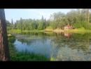 Этери Бериашвили в Сиверской Репетиция концерта на берегу реки