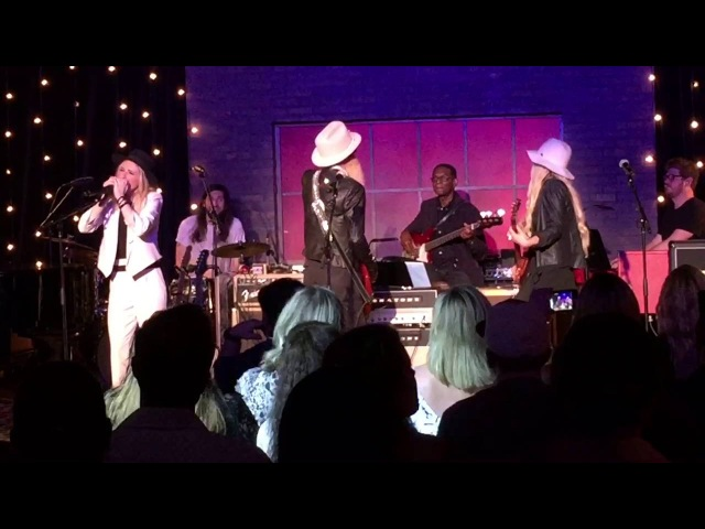 Billy Gibbons, Orianthi, ZZ Ward guests Sharp Dressed Man/La Grange at Skyville Live May 24, 2016