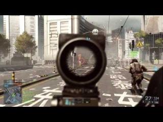 Battlefield 4 PS3 — геймплей в мультиплеере