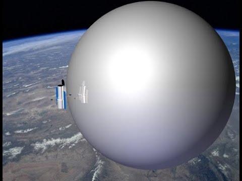 Солнце при восходе в Анапе стало отражаться в куполе Плоской Земли