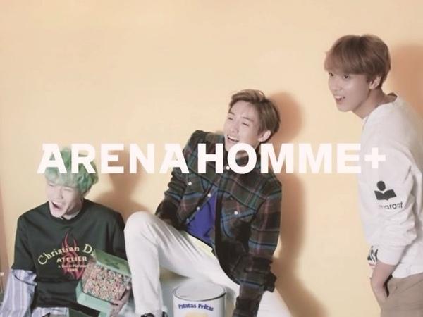 "Arena Homme Korea on Instagram: ""풋풋한 세 청춘, NCT 윈윈, 천러, 해찬입니다. arenakorea nct 윈윈 천러 해찬"""