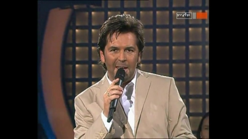 Thomas Anders - Tonight Is The Night (MDR, Music für Sie, 02.05.2004)