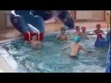Детский день рождения в аквапарке!