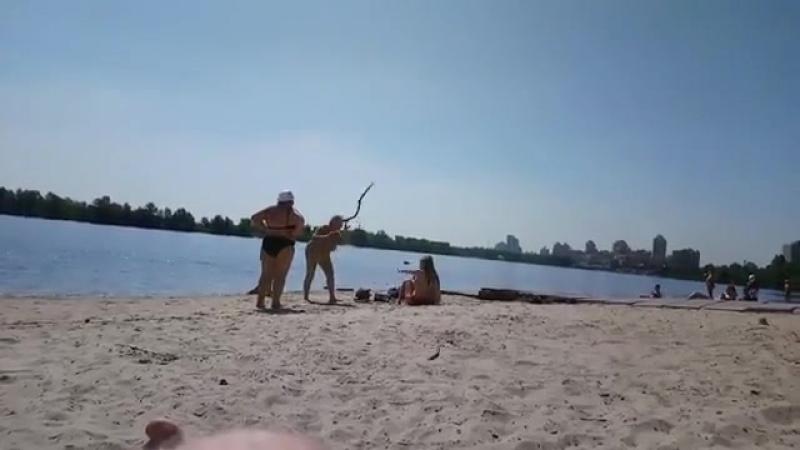 Пляжный файтинг (VIDEO ВАРЕНЬЕ)