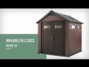Fusion _ Wood Plastic Sheds _ Keter