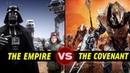 The Covenant vs the Galactic Empire in TOTAL WAR, Who Would Win? | Halo vs Star Wars Galactic Versus