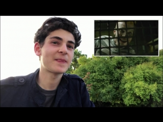 David Mazouz Responds To The Jerome Trailer | Season 4 | GOTHAM