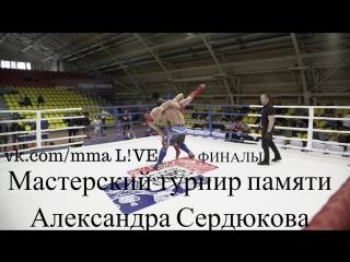 Мастерский турнир памяти Александра Сердюкова (ФИНАЛЫ)