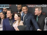 Ricky Whittle, Emily Browning &amp Ian McShane American Gods 2 Premiere