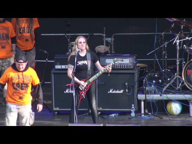 NERVOSA Live At OBSCENE EXTREME 2015 HD
