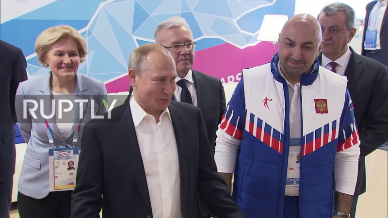 Russia 3 000 athletes 'it's like a whole big army' Putin visits Universiade 2019