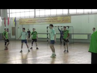 гандбол, ЧР, юноши 1999, СПб Московская - Белгород. 1 период.