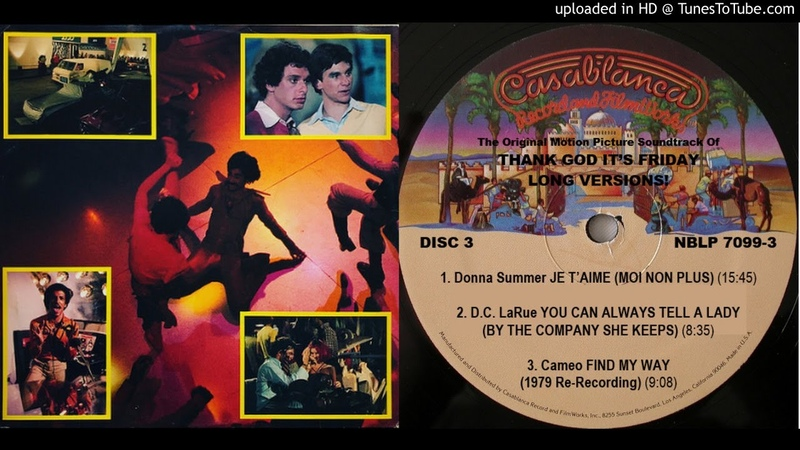 Thank God It's Friday [Full Album, Bonus] (Vol. 3) (1978)