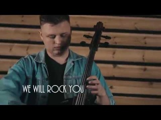 Queen - We will rock you (cello cover by Tchaikovsky trio) (bohemian rhapsody)