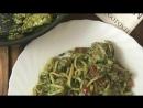 Телятина с лингвини, шпинатом и соусом песто — рецепт от Foodman Club