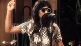 Santigold performing
