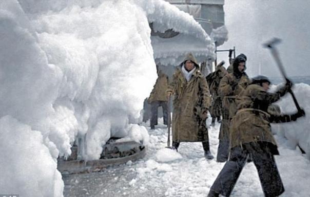 Суровые и опасные арктические конвои из Британии в СССР во время Второй мировой войны