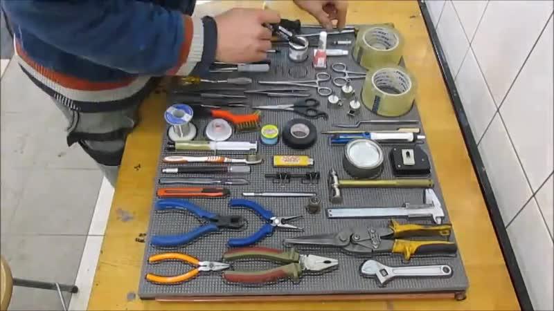 Подложка для инструментов - Глаза боятся - руки делают