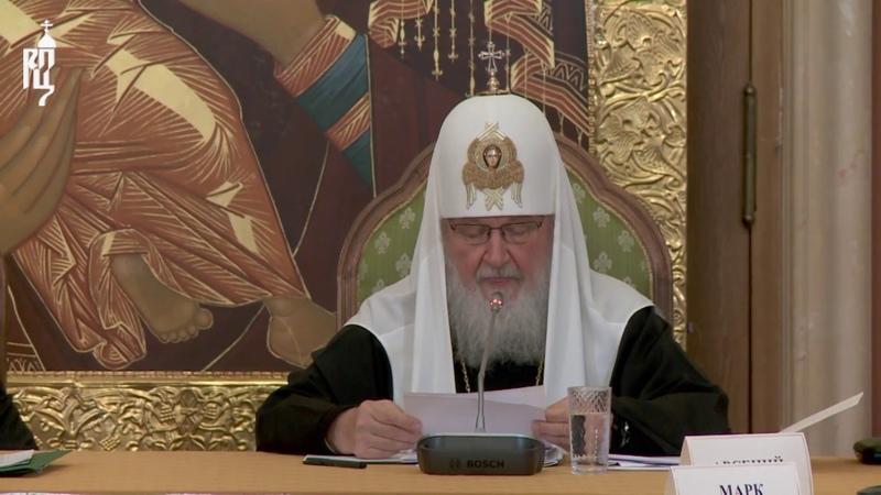 Состоялось заседание Попечительского совета Фонда поддержки строительства храмов г. Москвы